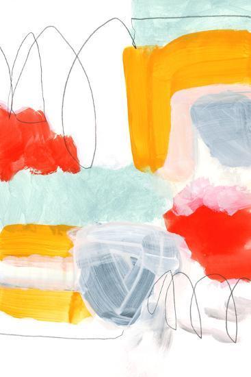 Abstract Painting XVI-Iris Lehnhardt-Art Print