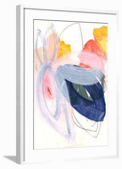 Abstract Painting XVII Framed Art Print by Iris Lehnhardt | Art.com