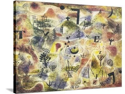 Abstract Painting-Paul Klee-Stretched Canvas Print