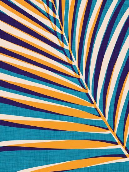 Abstract Palm Leaf-Modern Tropical-Art Print