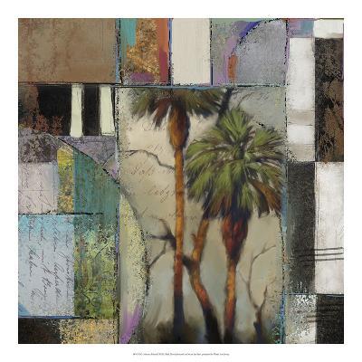 Abstract Palms II-Rick Novak-Art Print