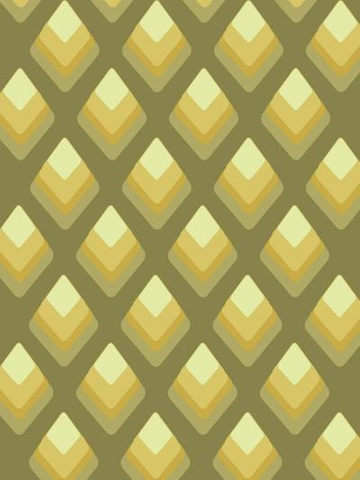 Abstract Pattern Green-Whoartnow-Giclee Print