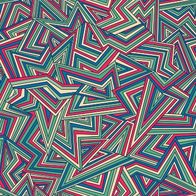 Abstract Pattern-Magnia-Art Print