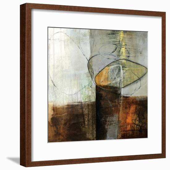 Abstract Pebble IV-Davies Jane-Framed Premium Giclee Print