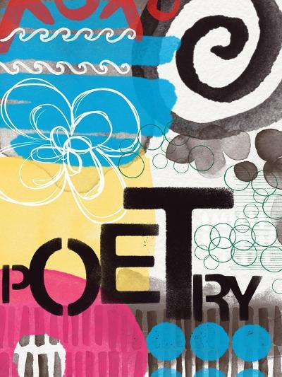 Abstract Poetry-Linda Woods-Art Print