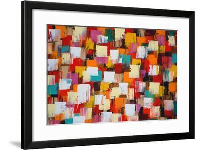 Abstract Psychedelic Background-Sergey-USSR-Framed Art Print
