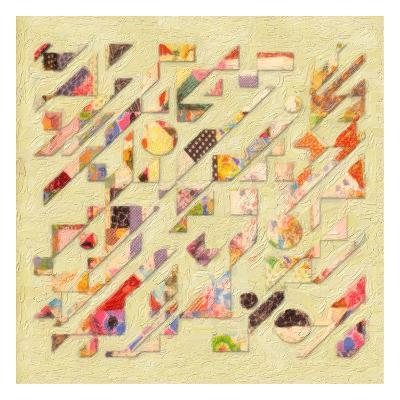 Abstract Quilt I-Taylor Greene-Art Print