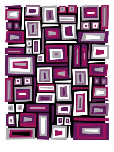 Abstract Rectangle Texture--Art Print