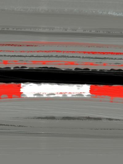 Abstract Red 4-NaxArt-Art Print