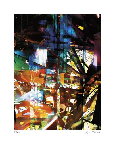 Abstract Reflection 2-Stephen Donwerth-Limited Edition
