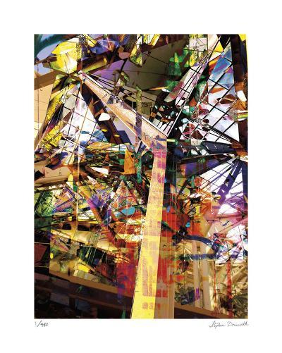Abstract Reflection Honolulu-Stephen Donwerth-Limited Edition