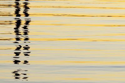 Abstract Reflections in San Diego Harbort, San Diego, California, USA-Jaynes Gallery-Photographic Print