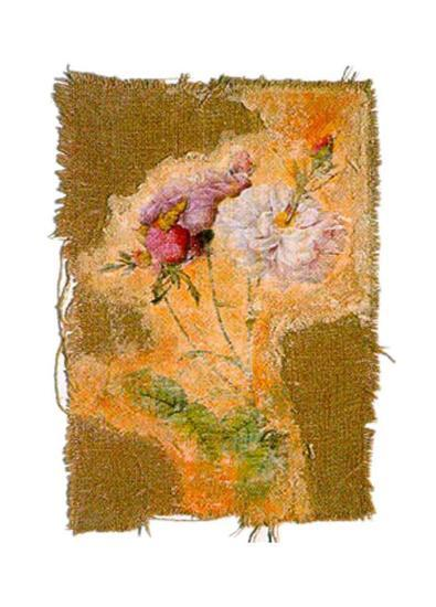 Abstract Roses I-Michel Lafontaine-Art Print
