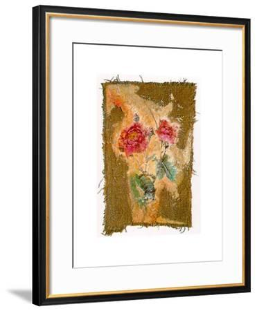 Abstract Roses II-Michel Lafontaine-Framed Art Print