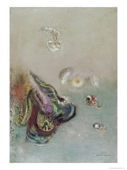 Abstract Scene-Odilon Redon-Giclee Print
