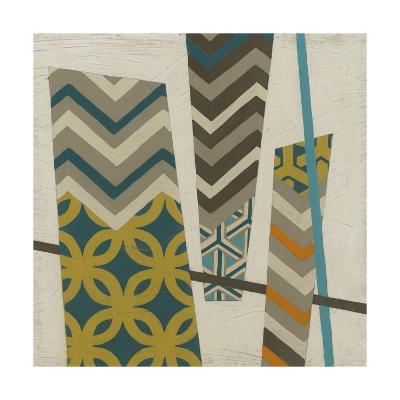Abstract Scrapbook I-Erica J^ Vess-Art Print