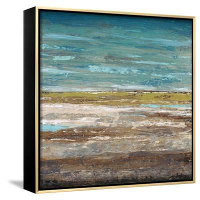 Abstract Sea 2-Dennis Dascher-Framed Canvas Print