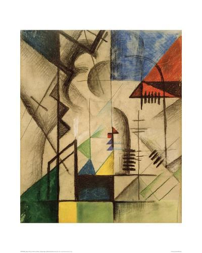 Abstract Shapes-Auguste Macke-Giclee Print