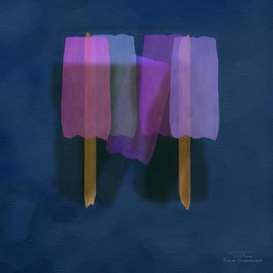 Abstract Soft Blocks 01 II-Joost Hogervorst-Art Print