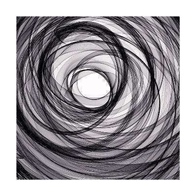 Abstract Spiral-alexkar08-Art Print
