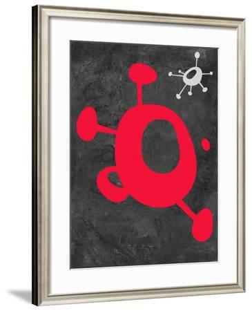 Abstract Splash Theme 11-NaxArt-Framed Art Print