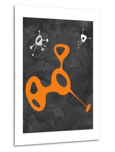 Abstract Splash Theme 12-NaxArt-Metal Print