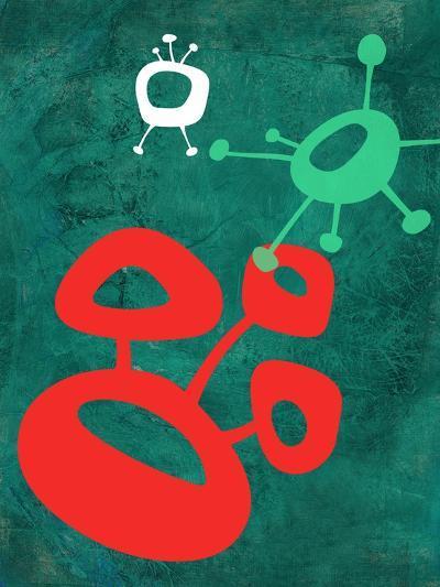 Abstract Splash Theme 2-NaxArt-Art Print