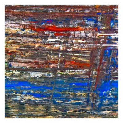 Abstract Stripes, no. 3-Jean-Fran?ois Dupuis-Art Print