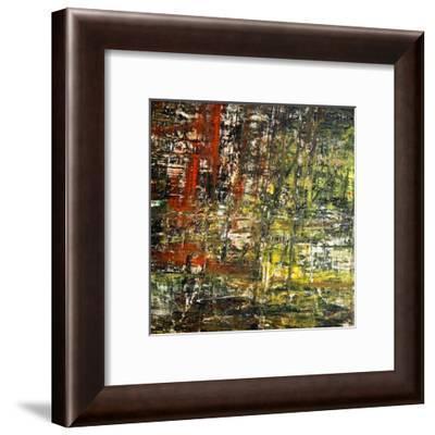 Abstract Stripes, no. 6-Jean-François Dupuis-Framed Art Print