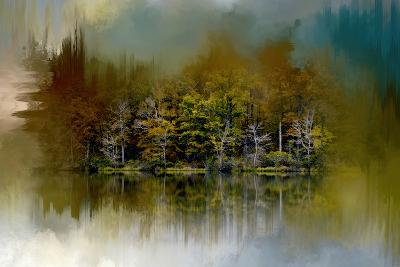 Abstract Summer Lake-Jai Johnson-Giclee Print