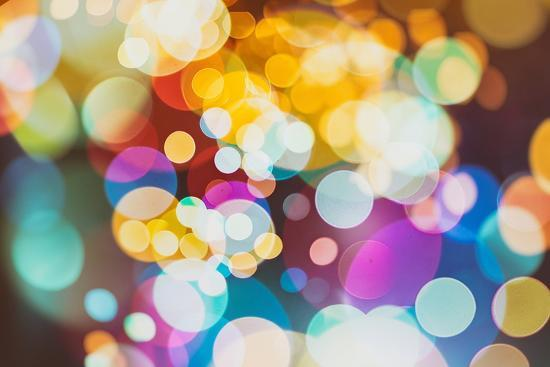 Abstract Texture, Light Bokeh Background-Maximusnd-Photographic Print