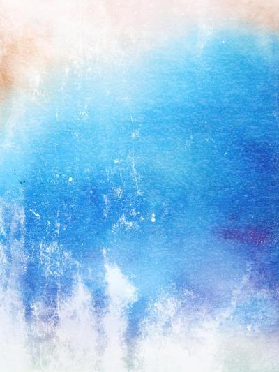 Abstract Textured Background: Blue And White Patterns-iulias-Art Print