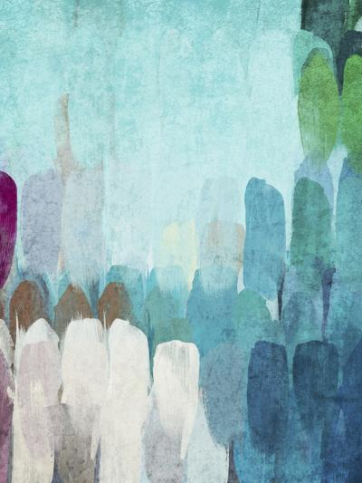 Abstract the Blues II-Irena Orlov-Art Print