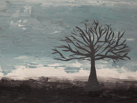 Abstract Tree II-Hilary Winfield-Giclee Print