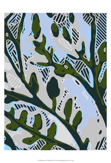 Abstract Tree Limbs II-Karen  Fields-Art Print