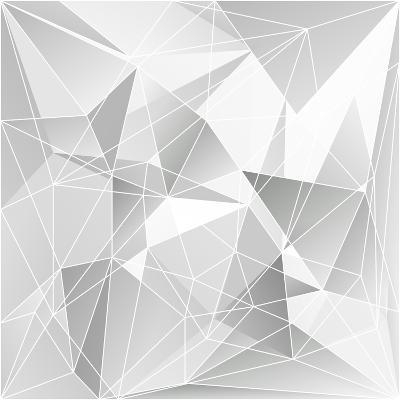 Abstract Triangle Background-epic44-Art Print