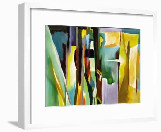 Abstract Variation-Hyunah Kim-Framed Art Print