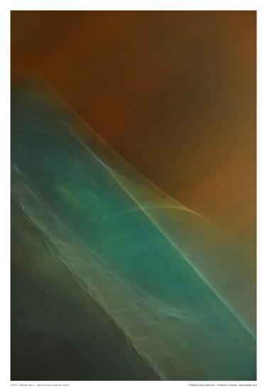Abstract Vibe II-Jean-Fran?ois Dupuis-Art Print