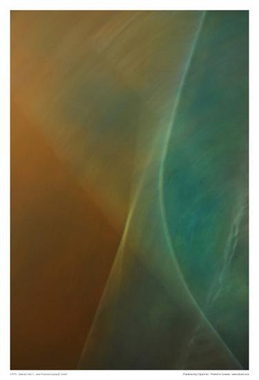 Abstract Vibe V-Jean-Fran?ois Dupuis-Art Print