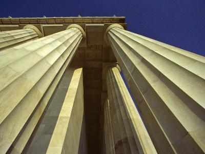 Abstract View of Columns of Lincoln Memorial, Washington, D.C.-Kenneth Garrett-Photographic Print