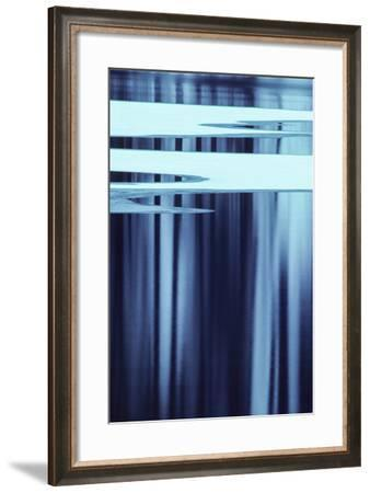 Abstract View of Trees Reflected in North Twin Lake-Tom Murphy-Framed Photographic Print