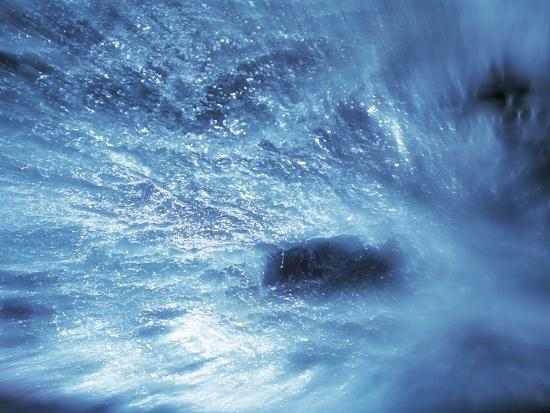 Abstract Water Splash--Photographic Print