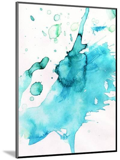 Abstract Watercolor Hand Painted Background-katritch-Mounted Print