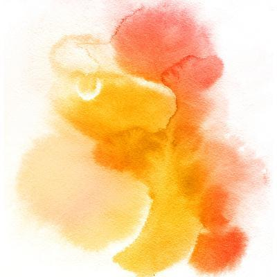 Abstract Watercolor Hand Painted Background-katritch-Art Print