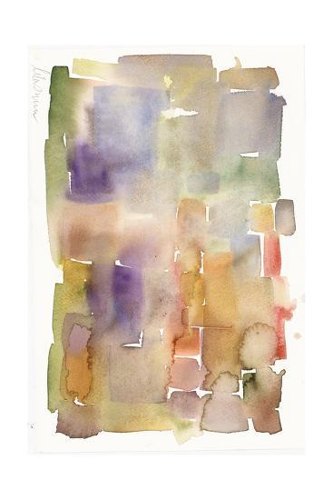 Abstract Watercolor Painting in Dull Colors--Art Print