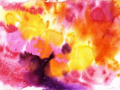 Abstract Watercolor Painting-max5799-Photographic Print