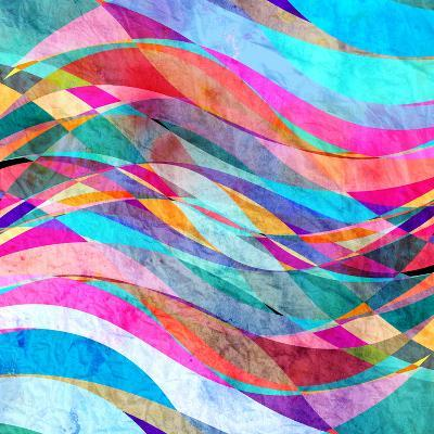 Abstract Wave-tanor27-Art Print