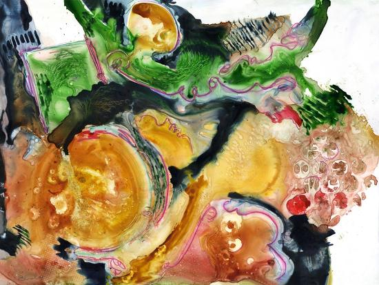 Abstract WC-Blenda Tyvoll-Giclee Print