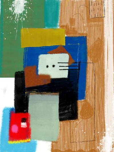 Abstract, Which Consists of a Plurality of Color Patches-Dmitriip-Art Print