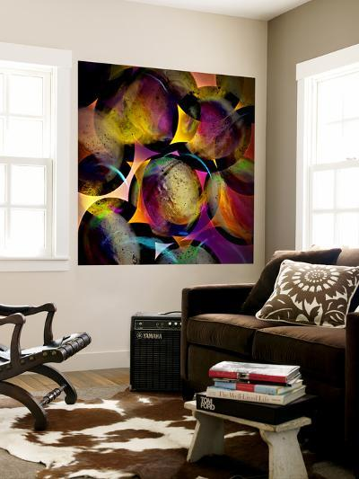 Abstract with Circles-Ursula Abresch-Wall Mural
